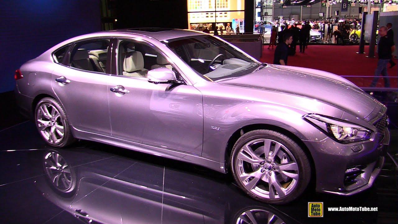 2015 infiniti q70s diesel exterior and interior walkaround 2014 paris auto show youtube. Black Bedroom Furniture Sets. Home Design Ideas
