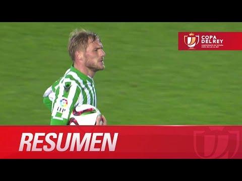 Resumen de Real Betis (3-4) UD Almería - HD Copa del Rey