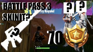 BATTLE PASS 3 SKINIT? | Fortnite Suomi