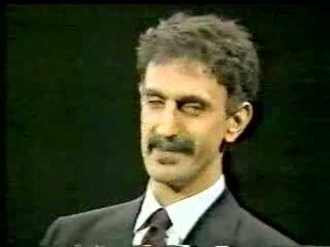 Frank Zappa on Crossfire 1986