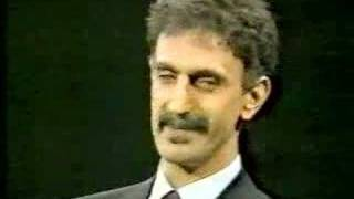 Frank Zappa on Crossfire 1986