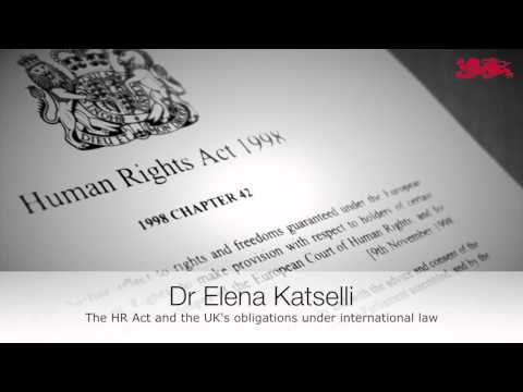 Reflections on the Government's Plans to Repeal the Human Rights Act 1998