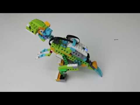 Tecnoaprendotutorial. LEGO WeDo 2.0. Dino Rex