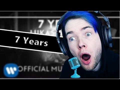 DanTDM Sings 7 Years By Lukas Graham