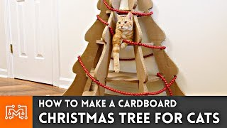 How to Make a Christmas Tree for Cats