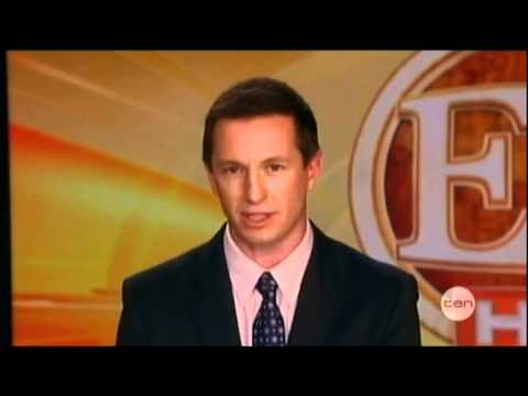 Rove McManus on Entertainment Tonight - The Project (2012)