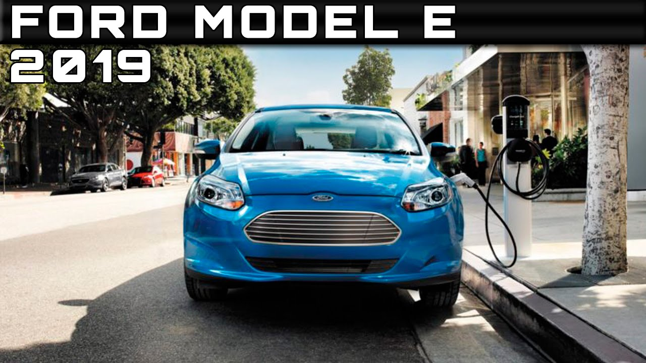 2019 Ford Model E Review Rendered Price Specs Release Date - YouTube