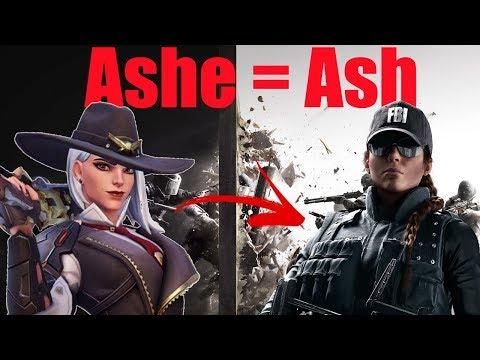 Ashe = Ash Also Zan Is Here - Tom Clancy's Rainbow Six Siege