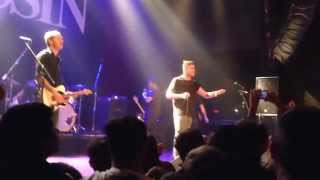 "Saosin w/Anthony Green, Cove Reber Reunion onstage ""Seven Years"" LIVE @ House of Blues San Diego"