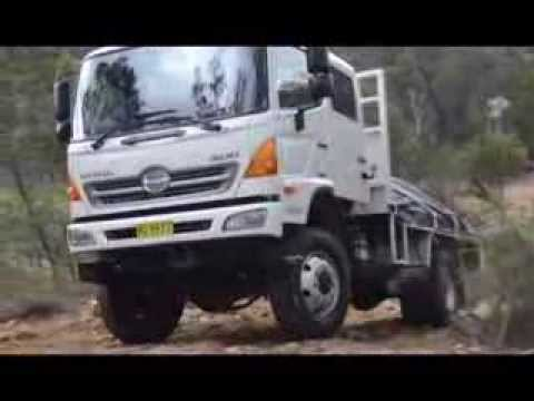 hino gt1322 4wd truck test allan whiting december 2013 youtube. Black Bedroom Furniture Sets. Home Design Ideas