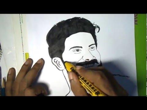 CHARLIE DRAWING (Dulquar Salman)