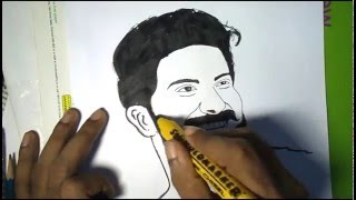 CHARLIE DIBUJO (Dulquar Salman)