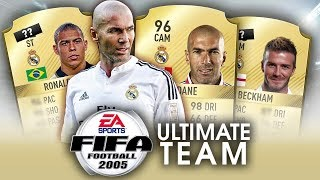 Gdyby FIFA 2005 miała ULTIMATE TEAM... - REAL MADRYT