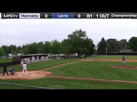 2017 NCAA DIII Baseball Mid-Atlantic Regional - GAME 15