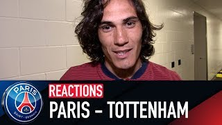 REACTIONS : PARIS - TOTTENHAM