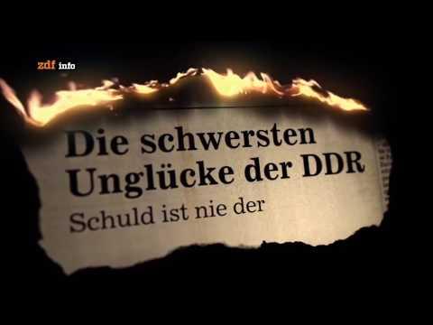 Die schwersten Unglücke der DDR (1)