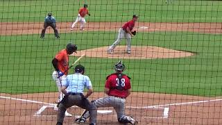 Yusniel Diaz (July 20-22 2018) vs. Erie (Bowie, MD)