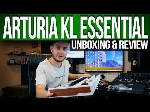 Unboxing & Review Arturia KL Essential | Español
