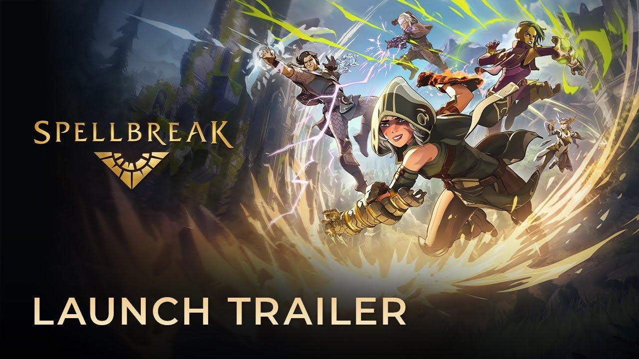 Spellbreak Official Launch Cinematic Trailer | SIE
