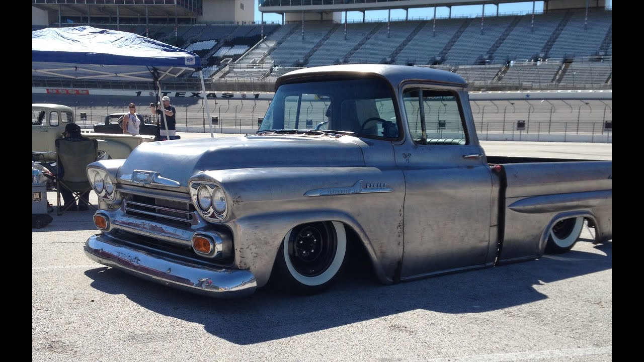 1958 Bagged Chevy Apache Truck | SWB LS1 and 4L60E - YouTube