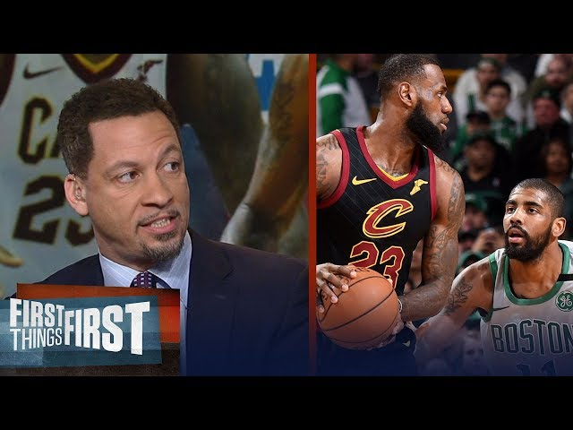 Chris Broussard on Kyrie's MVP comments about James Harden vs LeBron   NBA   FIRST THINGS FIRST