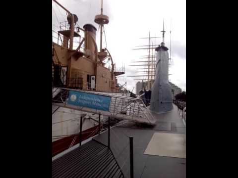 Exploring the USS Olympia part 1