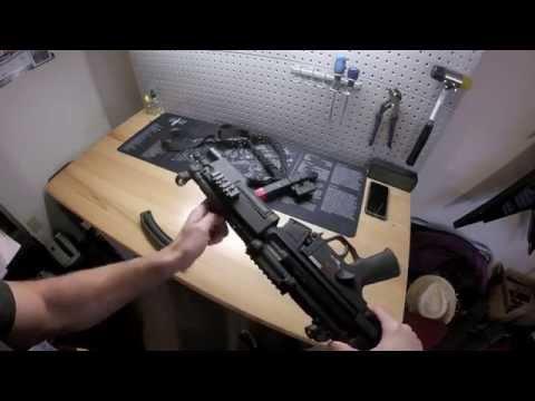 Walther HK MP5 A5 .22lr SBR