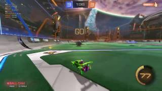 Rocket league goal.