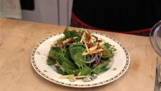 Classic Spinach Salad : Spinach Salads