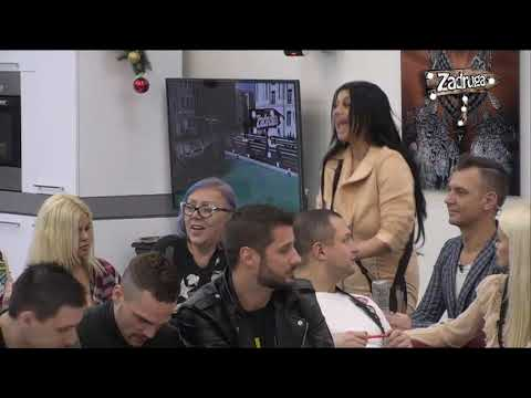 Zadruga 2 - Žestoka svađa Zerine i Lepog Miće - 11.01.2019.