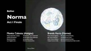 Bellini: Norma Act I Finale (Brenda Harris, Monica Colonna, Antonio Nagore)