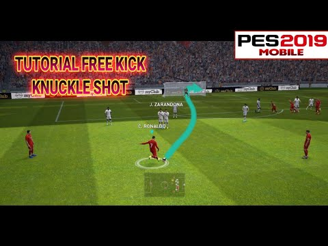 Tutorial Free kick Knuckle Shot | Pes 2019 Mobile Mp3