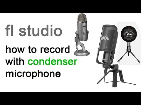 condenser microphone record - fl studio bangla tutorial