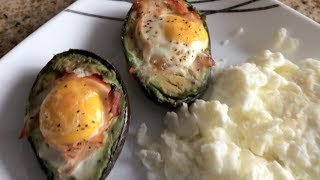 How To Make Egg-stuffed Avocado