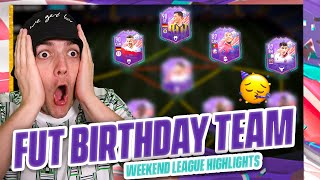 I played FUT CHAMPS w/ A FUT BIRTHDAY team & LOST TO A BRONZE TEAM!!