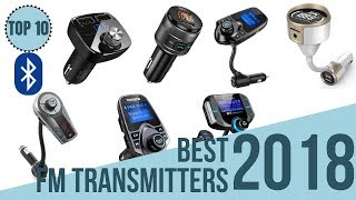 Top 10: Best Bluetooth Fm Transmitters for Cars of 2018 / 10 Best Bluetooth Car Adapters