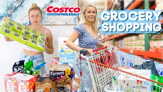 COME GROCERY SHOPPING WITH ME - My First Time At Costco!