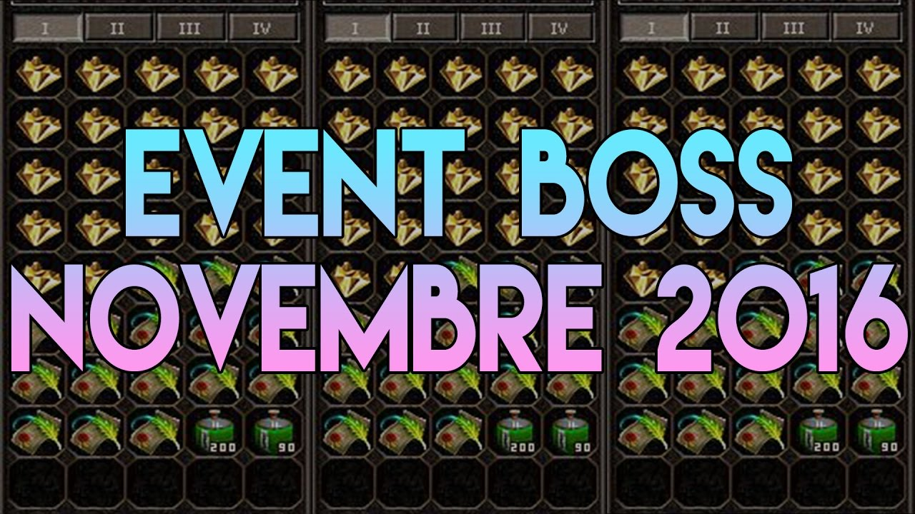 Calendrier Event Metin2.Event Boss Novembre 2016 Metin2 Fr