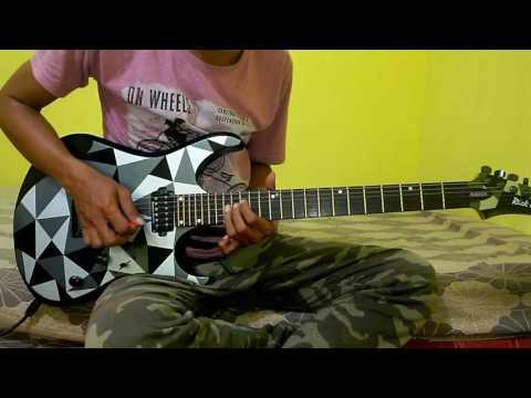 Mega-bayangan gurauan (guitar cover)