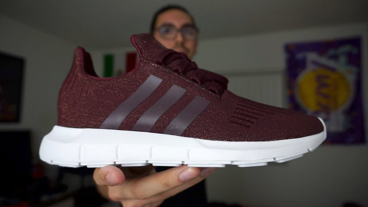 Adidas swift run unboxing + review (donne) su youtube