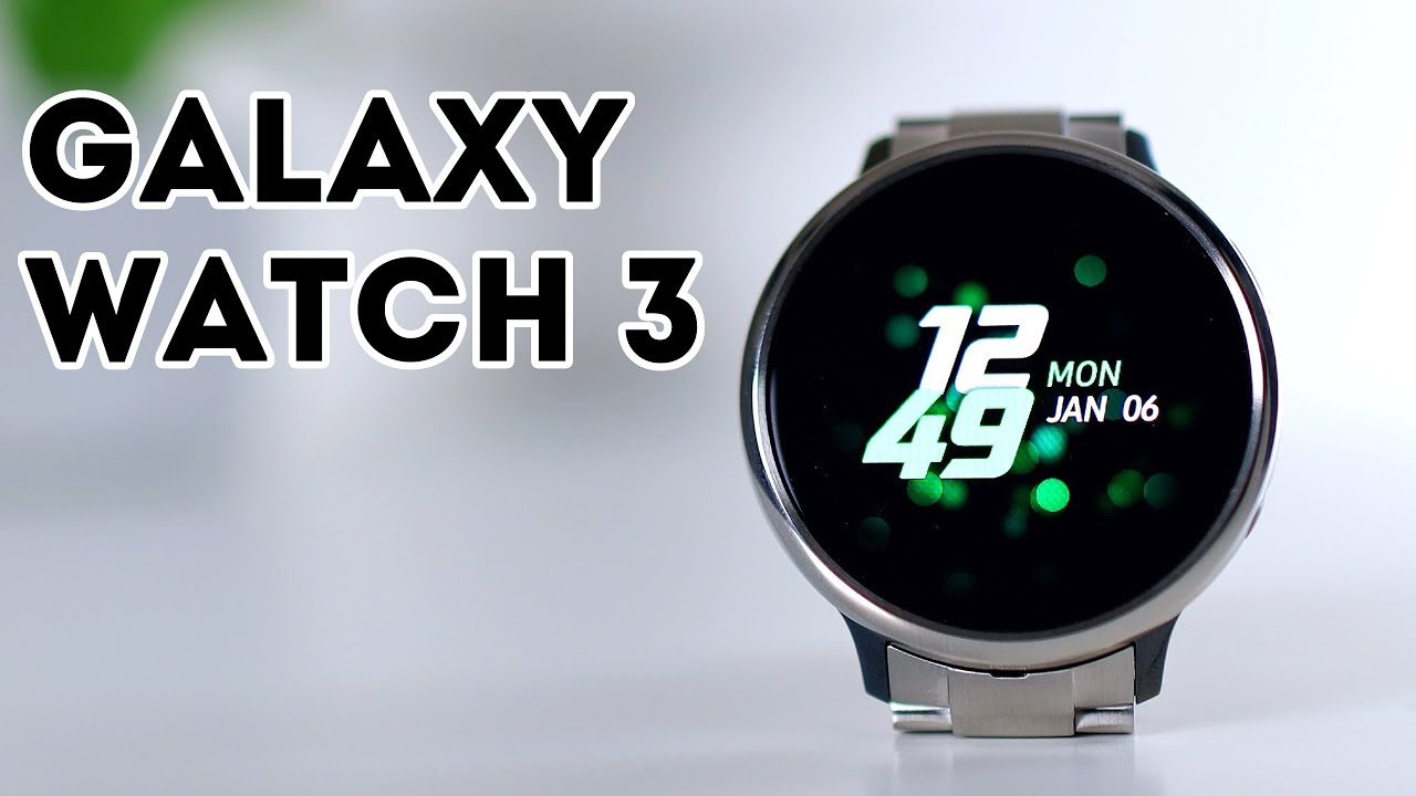 Samsung Galaxy Watch 3 - Review and Release?