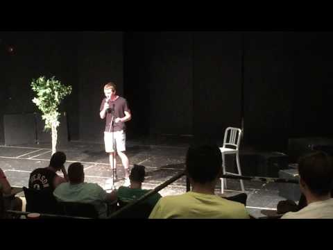 James Stroud JHU Stand-Up Comedy Club Open Mic 4/29