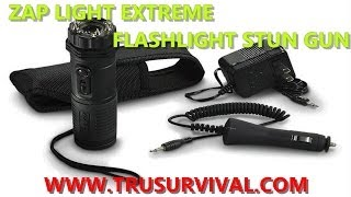 Zap Light Extreme Flashlight/Stun Gun Review