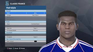PES 2017 How to create DESAILLY