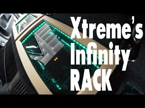 AMPLIFIED - Trim rings for Xtreme's infinity amp rack, and Nissan Patrol iPad dash mod update