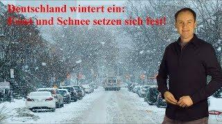 Nächste Woche Schnee und Frost: Deutschland wintert ein! (Mod.: Dominik Jung)