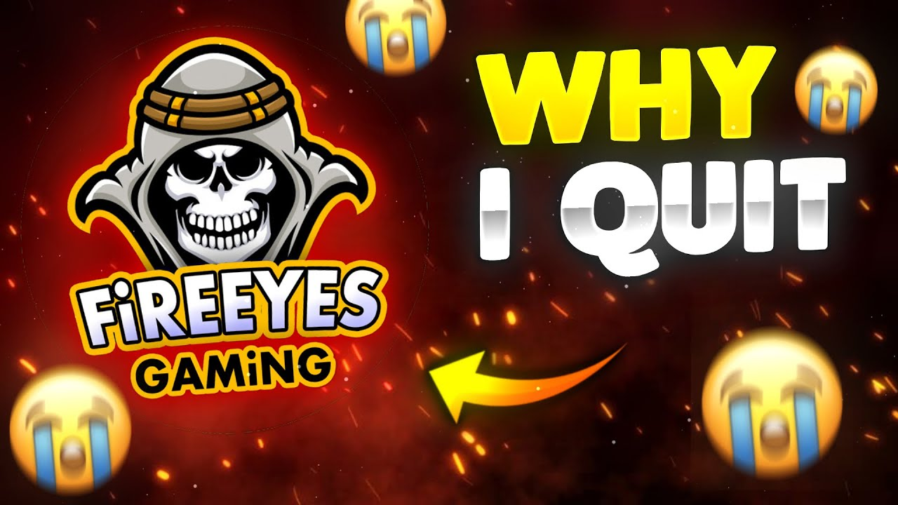 Why FireEyes Gaming is Not Uploading Videos??