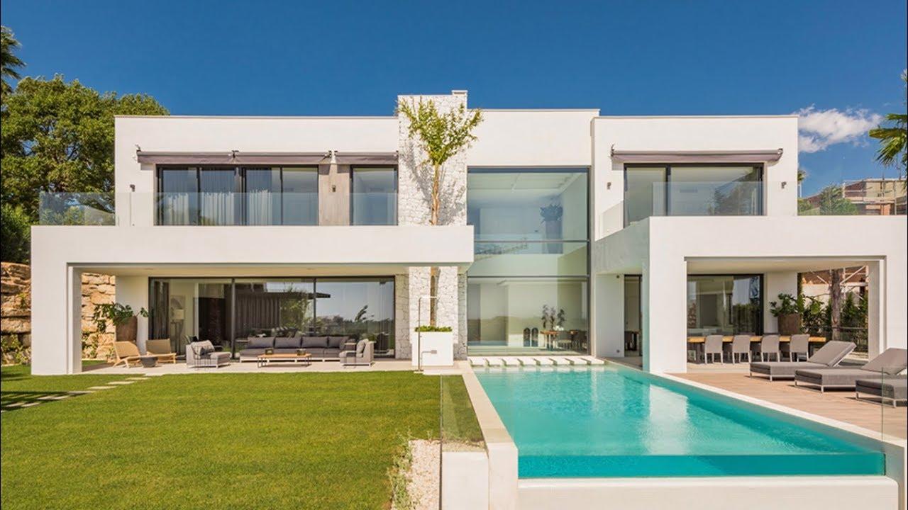 New fantastic modern villa in la alquería marbella spain 3 700 000 €