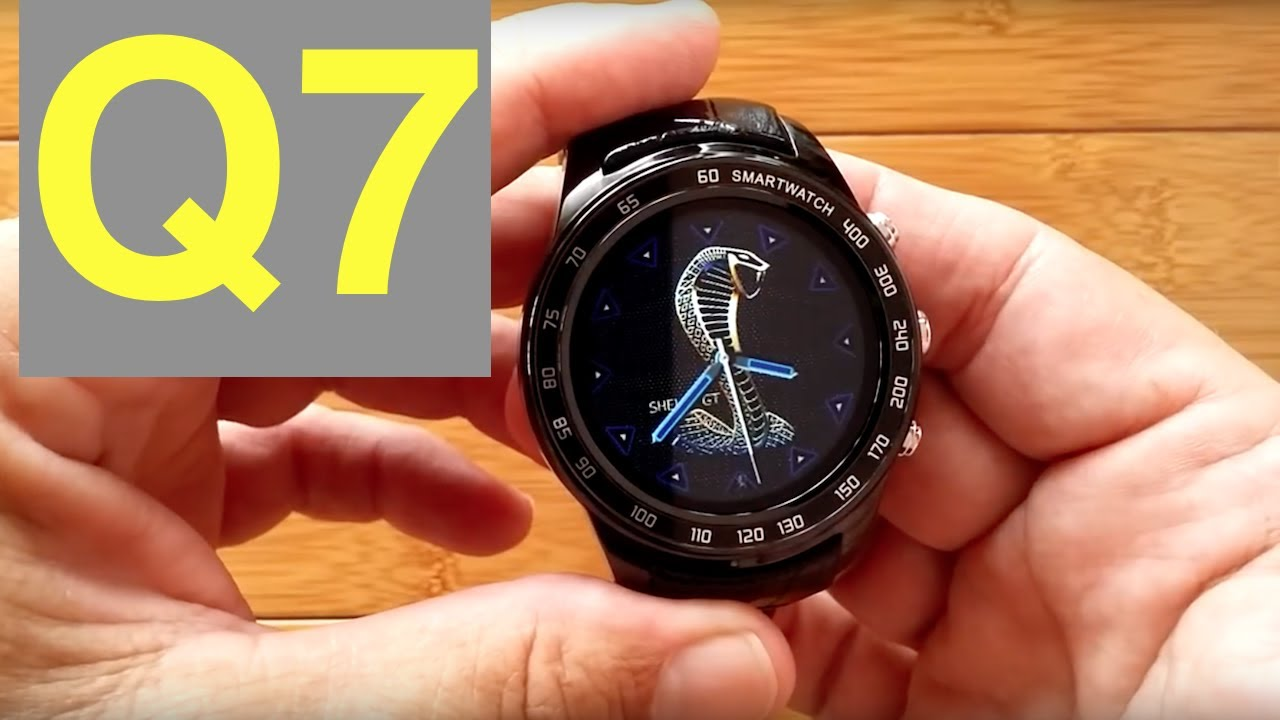 FINOW Q7 Android 5 1 Smartwatch with microSD Support: Unboxing & 1st Look