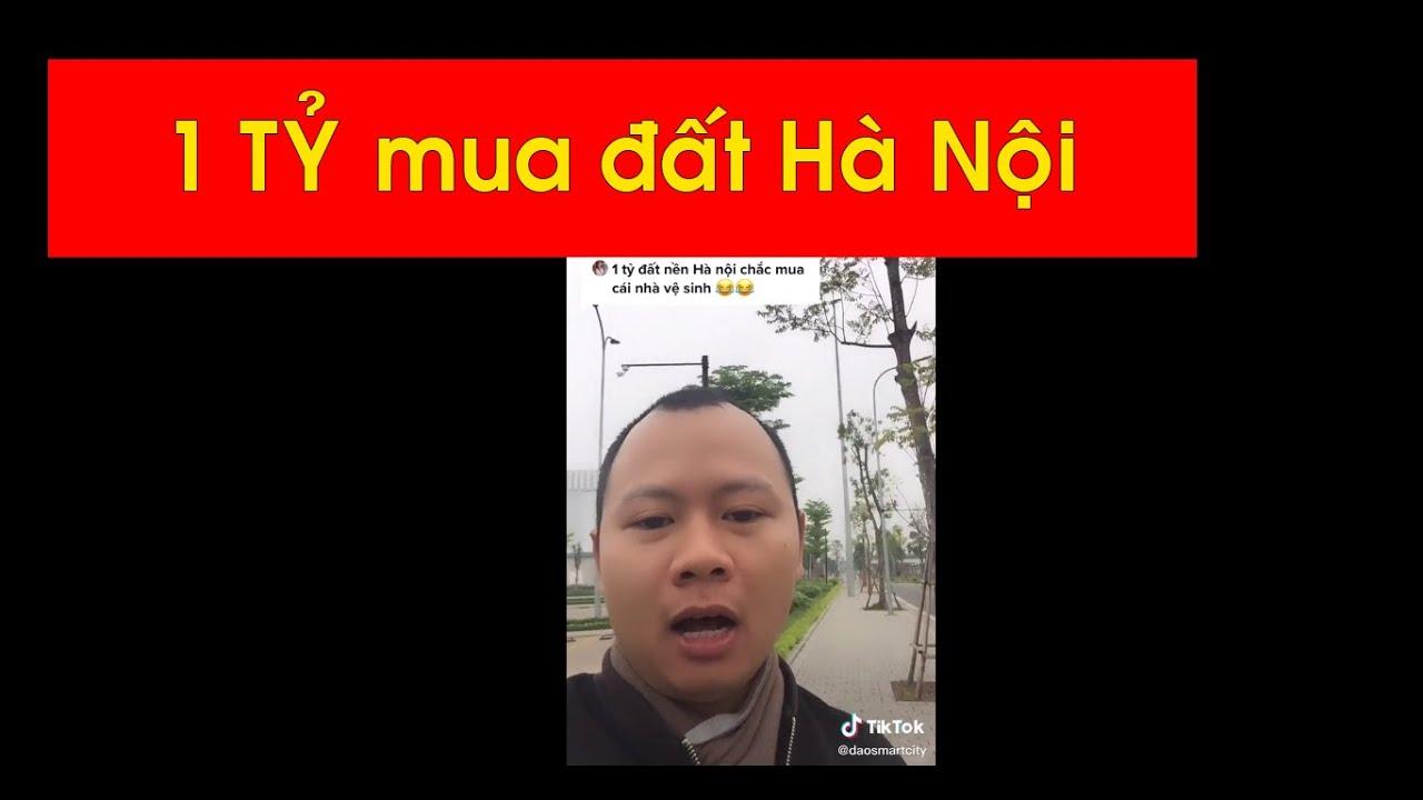 image 1 tỷ mua đất nền Hà Nội chắc mua nhà vệ sinh #ntd
